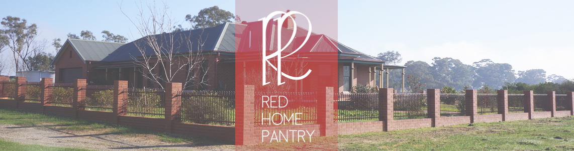 Red Home Pantry